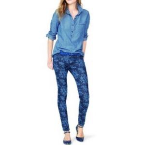 Old Navy Rock Star Floral Print Jeans -